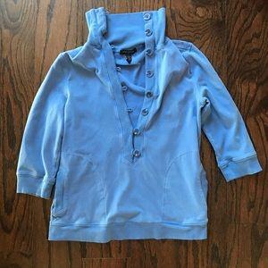 Banana Republic soft button up sweatshirt!